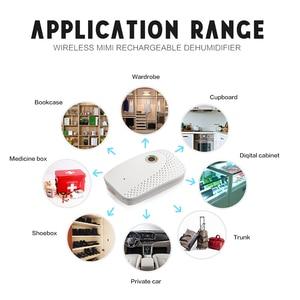 Image 2 - Мини портативный осушитель воздуха, электрическая сушилка для воздуха, умный влагопоглощающий Осушитель для домашнего гардероба, книжного шкафа