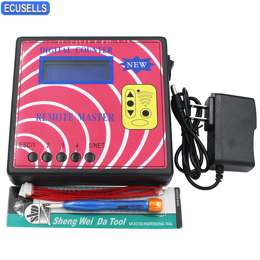 New Digital Counter Remote Master Key Programmer Frequency Meter Fixed Rolling Code Remote Copier Auto Key