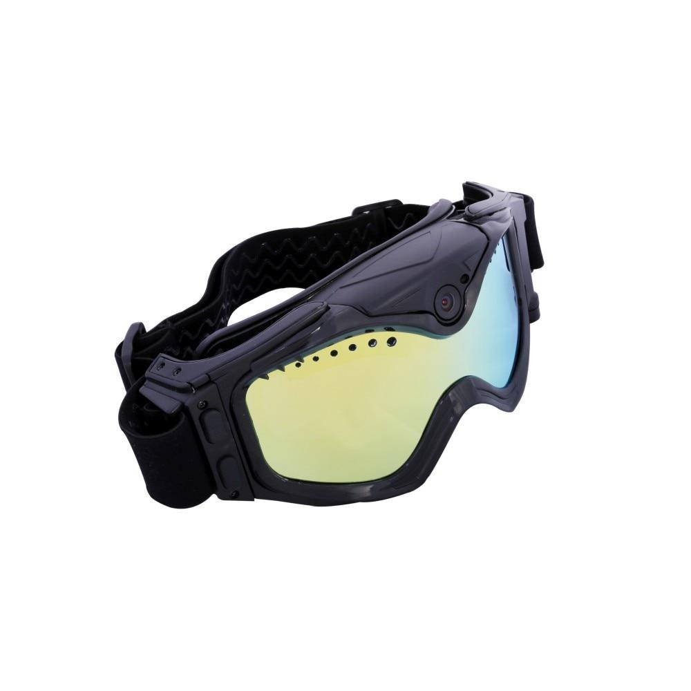 1080P HD Ski Sonnenbrille Brille WIFI Kamera & Bunte Doppel Anti Fog Objektiv für Ski mit Freies APP Live Bild Video Überwachung - 4