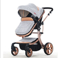 Carrinhos de bebê Two-way impacto alta paisagem pode sentar BB dobrável carrinho de alumínio leve de verão frete grátis