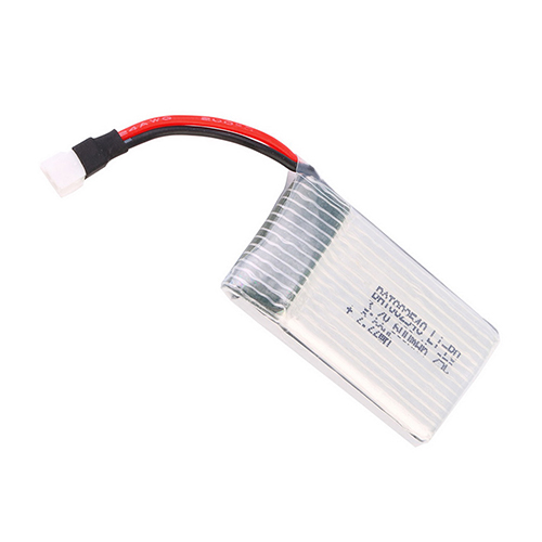 Image 5 - High Quality 3.7V 600mAh 25C Lipo Battery Part for WLtoys V931 SYMA X5C Quadcopter Drone 92M4-in Parts & Accessories from Toys & Hobbies