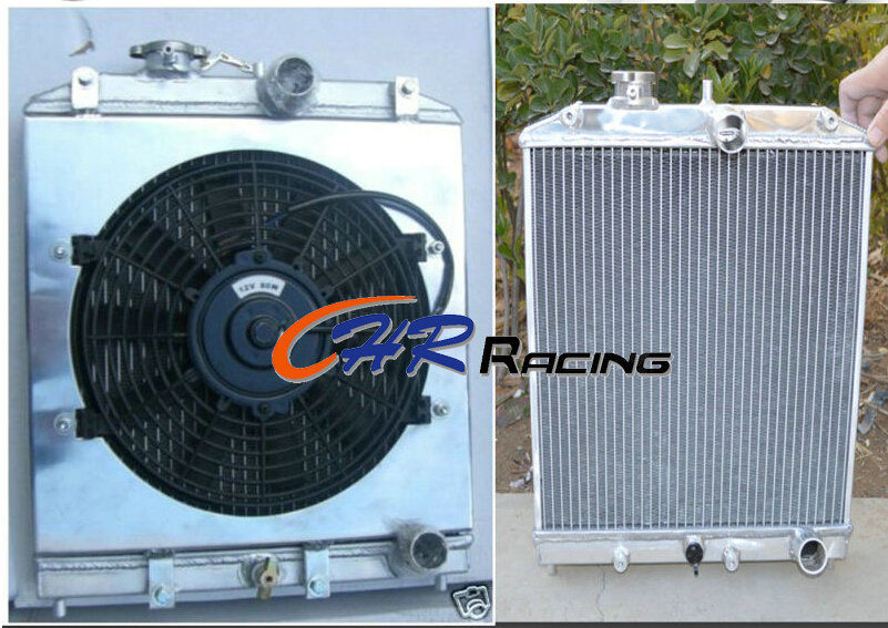 32mm in out pipe 3 core aluminum radiator for 92 00 honda. Black Bedroom Furniture Sets. Home Design Ideas