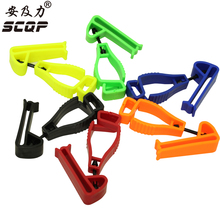 Plastic Glove clip with protective Holder safety work gloves Guard Utility Guard clip AT-2 JQB