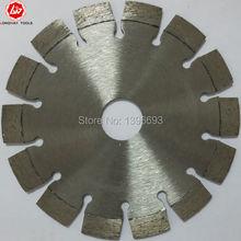 20pcs/set 125X10X22.23mm laser diamond circluar saw blade for reinforced concrete ,asphalt cutting tools,masonry cutting wheels