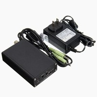 KROAK Black 5W Stereo Digital FM Transmitter FM Radio Transmitter Mini FM Radio Station