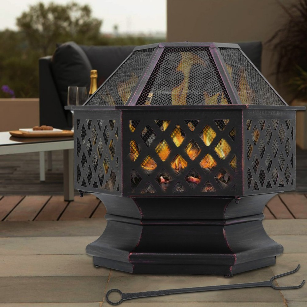 Здесь можно купить  Newest Diamond Shape Fire Pit BBQ Grill Heater Party Mesh Fire Pit Bowl for Outdoor Garden Patio Backyard Camping  Инструменты