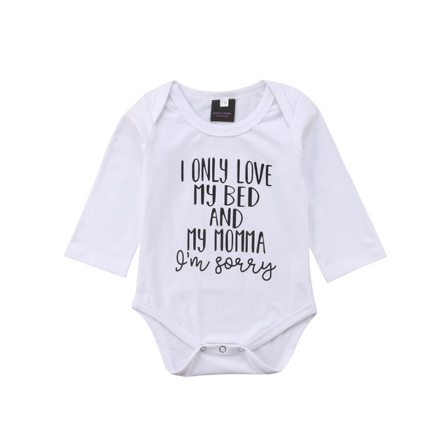 214ebf695 2018 Newborn Baby Boy Girl Kids Romper Jumpsuit Clothes Outfits 0 ...
