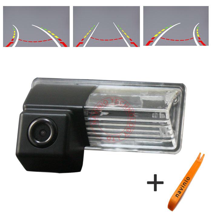 CCD Камера трек Назад Камера Заднего вида Интегративной Динамический Путь Вспять Траектория Для Sony CCD Nissan Teana ночного видения HD