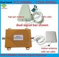 Alto ganho de banda Dupla CDMA 850 Mhz + PCS 1900 Mhz Celular KIT de reforço de Sinal de telefone Celular repetidor De Sinal amplificador de sinal Duplo bar