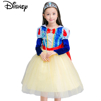 Disney Frozen dress for girls elsa costumes nest Girls Cosplay party Princess anna kids vestidos de festa meninas for children