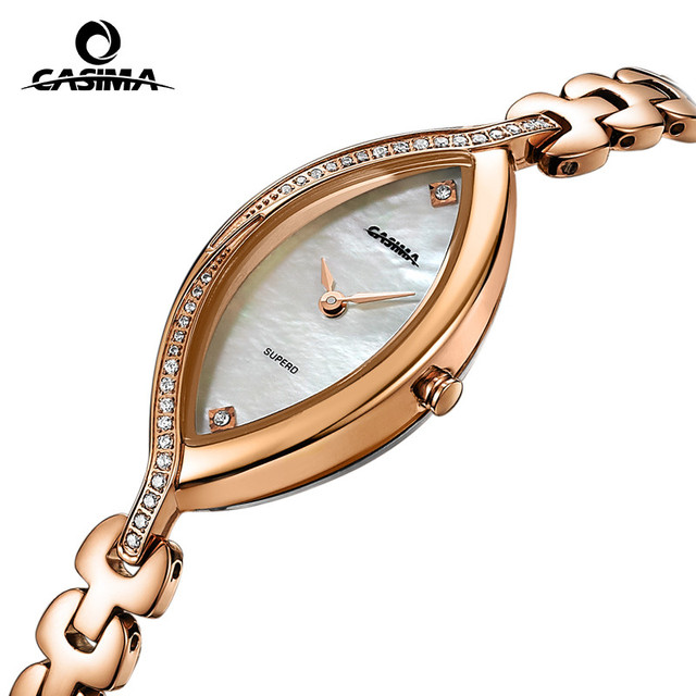 Fashion luxury brand Women's Bracelet Watches casual ladies quartz watch stainless steel waterproof relojes mujer CASIMA #2609