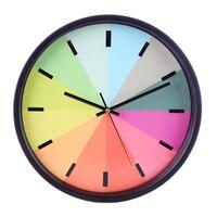 11.8 inch 3D large rainbow decorative digital wall clock modern design vintage silent Clocks kitchen Living home Decor clocks