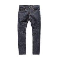 Evisu 2018 New Men's Denim Jeans Spring Summer Fashion Casual Trousers Men Big M Black White Print Hip Hop Long Pants 6209