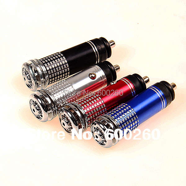 Air Purifier New 12V Mini Auto Car Fresh Air Ionic Purifier Oxygen Bar Ozone Ionizer Cleaner