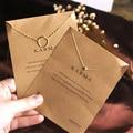 2016 Новый Горячий Продажа Стерлингового Серебра 925 Ювелирные Изделия Ожерелье Простые Круги Boho Choker Колье Ожерелья & Подвески Для Женщин