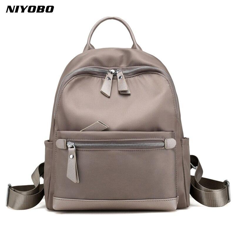 NIYOBO 2018 waterproof backpacks Oxford cloth shoulder bag Korean Style Famous Designers travel back pack for girl and college