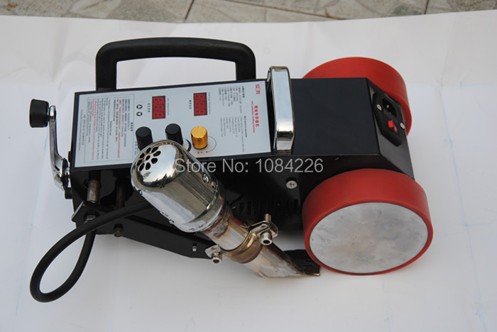 hot sale PVC PE intelligent banner welder with a free heater in Plastic Welders from Tools