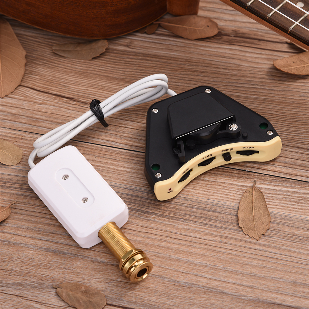 Acoustic Guitar Sound Hole Pickup With Playing Board Guitar Parts Accessories acoustic classical guitar repair clip maintenance tools guitar parts accessories