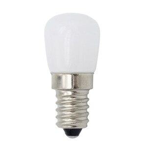 Image 1 - Mini E14 COB مصباح ليد Blub 2835 سمد زجاج مصباح ل ثلاجة الفريزر ماكينة خياطة إضاءة المنزل