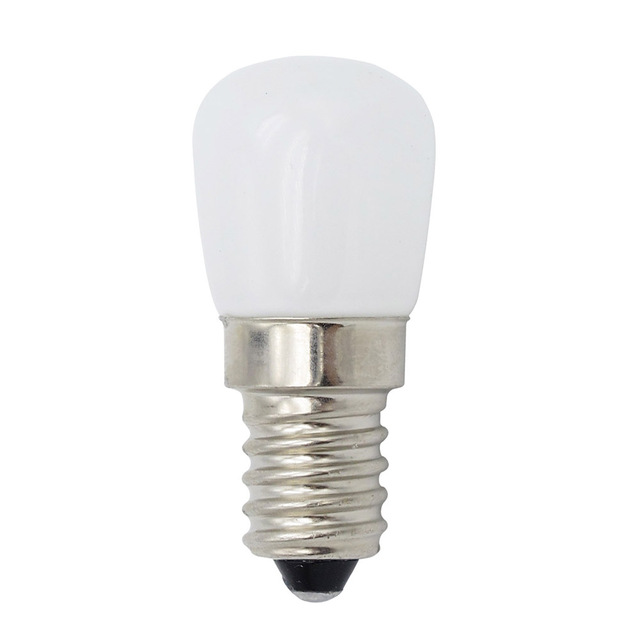 Mini E14 COB مصباح ليد Blub 2835 سمد زجاج مصباح ل ثلاجة الفريزر ماكينة خياطة إضاءة المنزل