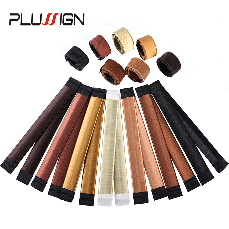 Plussign Magic Hair Set French Twist Magic Tool Bun Hair Maker Fast Bun Easy To Use 7 Color Curler Roller Hairstyle Tool