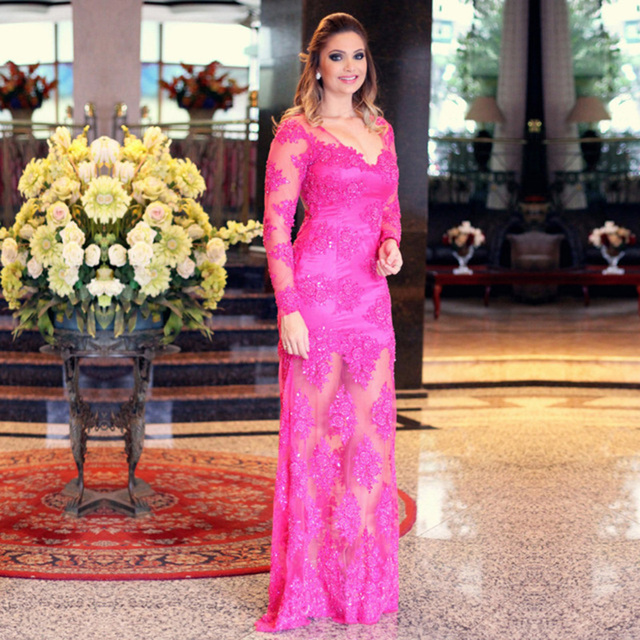 Elegant Long Evening Dresses Plus Size