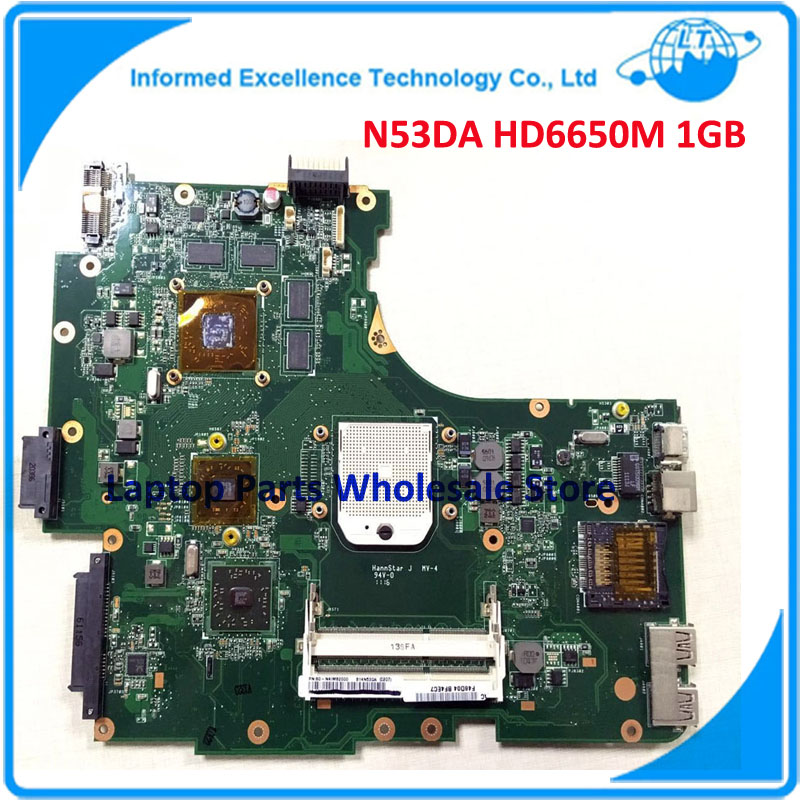 NEW! Motherboard N53DA For Asus Laptop Notebook N53D HD6650M 1GB Fully Tested Shipping