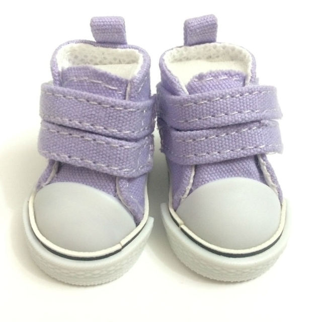 5 CM Mini Toy Canvas Shoes 1/6 BJD Doll Shoes Accessories for Dolls,Fashion Causal Snickers Shoes Doll Boots 12 Pairs/Lot