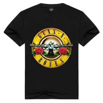 Hommes/femmes Guns N' Roses T-shirt mode pistolets n roses t-shirts été hauts t-shirts hommes lâche t-shirts grande taille