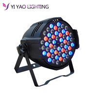 China dj par Aluminum alloy led par 54x3W RGBW dmx led par light rgbw No Noise