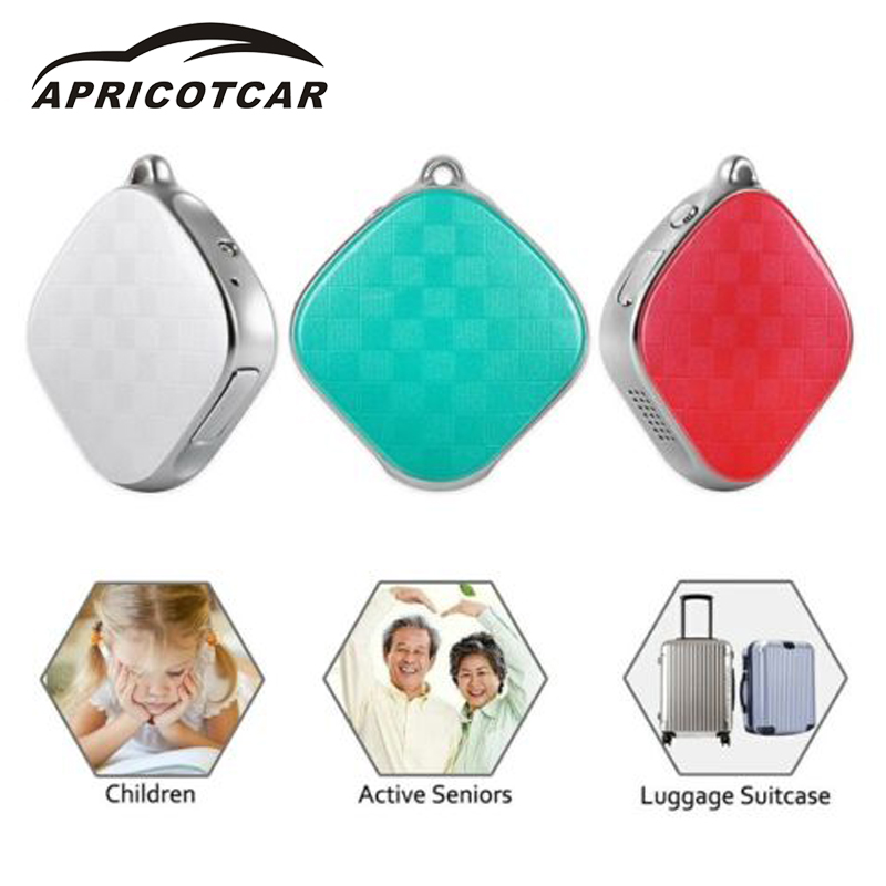 APRICOTCAR 2017 Mini Miniature GPS Tracker Children Old Man Pet Satellite Locator GSM GPRS Wifi Car Real-time Tracking Alarm New hot sale mini gps gprs gsm car vehicle tracker for old man children pet outdoor sos communicator anti lost tracking personal lo