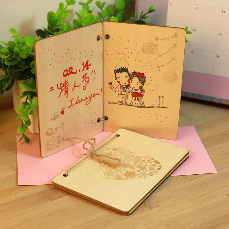 aliexpress  buy  beautiful wood greeting cards with, Greeting card