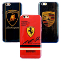 Excelente luz azul cajas del teléfono para iphone 5 5s 6 6 S 7 7 Más Súper Coche Deportivo Lamborghini Ferrari Porsche-070104