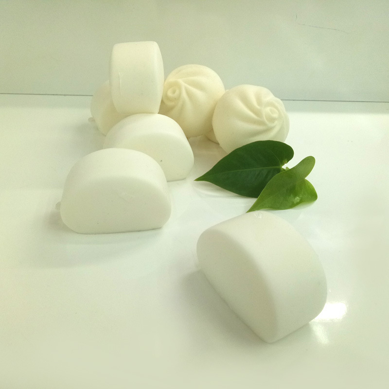 Hot Sale Cute Squishy Steamed Buns Slow Rising Kids Slime Toy