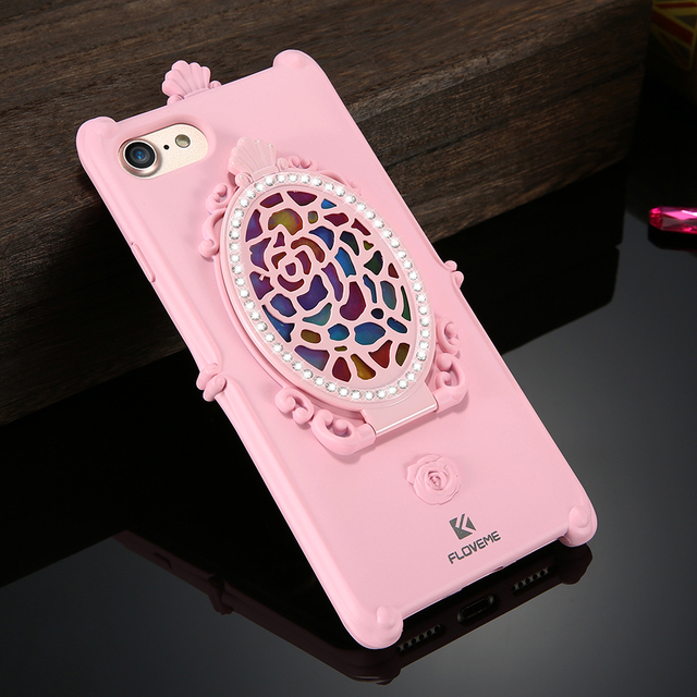 Etui iPhone oryginalne z lusterkiem 7 /  6 / 6s Plus