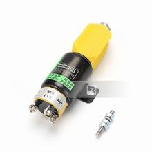 Двигатель электромагнитного клапана komatsu pc200 5 / 6/7 flame