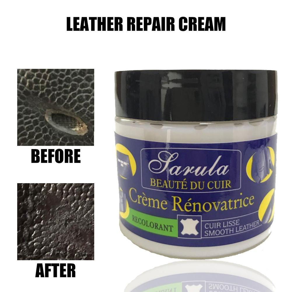Image 5 - 50ML Car Auto Leather Recoloring Balm Renew Restore Repair Color To Faded Or Leather Scratch Repair For Couches Car Seats Purses-in Grinding Polishing Paste & Liquid from Automobiles & Motorcycles