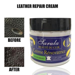 Image 5 - 50ML voiture Auto cuir Recoloring baume renouveler restaurer réparation couleur à délavé ou cuir éraflure réparation pour Couches sièges de voiture sacs à main