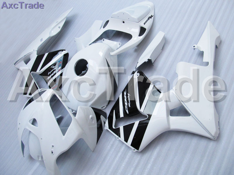 Кузов Мото Обтекатели, пригодный для Honda CBR600 ЦБ РФ 600 CBR600RR 2005 2006 05 06 Ф5 обтекатель комплект высокое качество АБС-пластик Белый С64