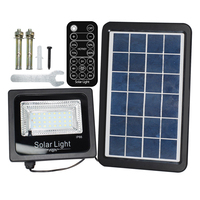 30W LED Solar Powered Flood Lights Outdoor Garden Lawn Landscape Lamps Waterproof Security Wall Lamps Floodlight +Remote Control
