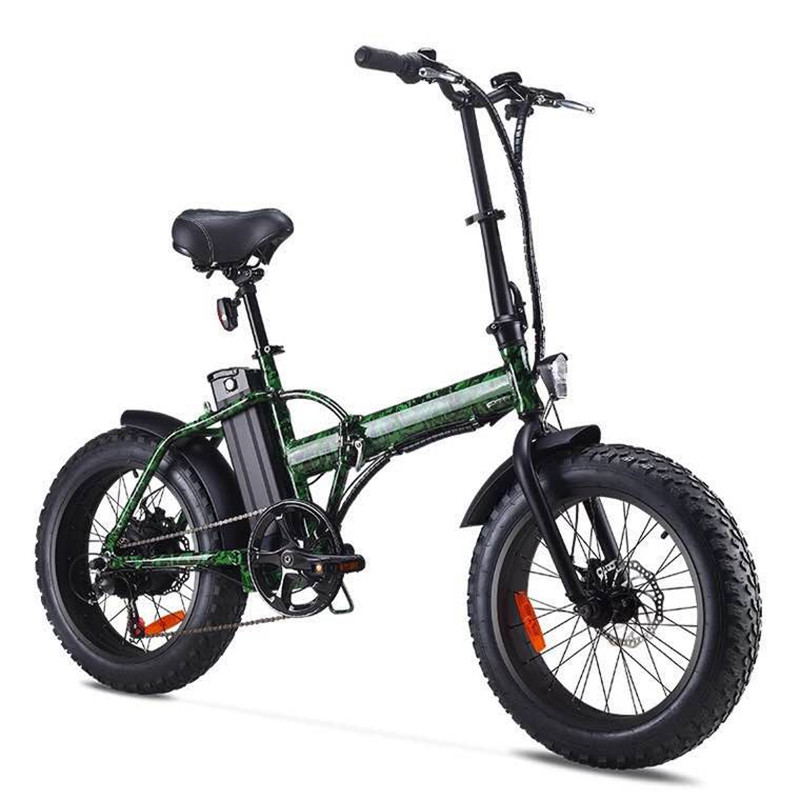 все цены на Small folding electric bicycle 48V Mini scooter off-road lithium battery snowmobile