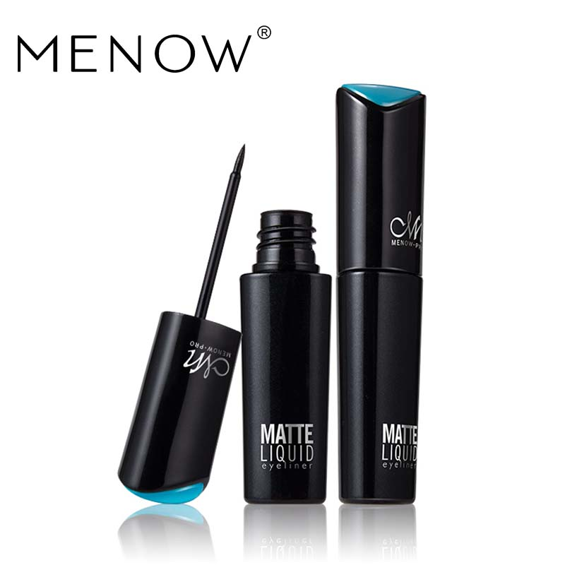 MENOW Brand Makeup Eye liner Ultra-fine Smudge-free Waterproof Liquid Quick Dry  Easy to Wear Long Lasting Eyeliner CosmeticE412