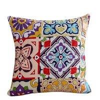 45*45 cm Retro Bohemia Đệm khách Cover room Trang Chủ Trang Trí Gối Sáng Tạo Pillowcase Sofa Cushion Cover Bán Buôn #605