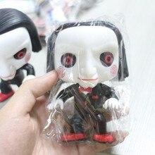 Неидеальный Funko Pop! Фильм ужасов Saw-BILLY свободная Игрушка Фигурка декоративная модель игрушка дешевая цена без коробки