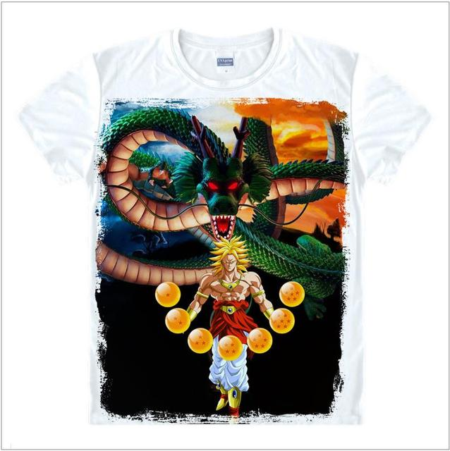 dragon ball t shirt dragon ball z shirt men Goku Z Vegeta Print Tee Anime Super Saiyan Design Men's Tshirt Cool Cartoon T-shirt