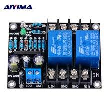 AIYIMA аудио портативный динамик s UPC1237 двухканальный динамик защита платы загрузки Mute задержка DC 12-24 В