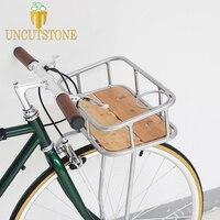fixed gear bike basket fixie bike Panniers Multi functional Vintage 700C track bike Basket Bicycle Accessories