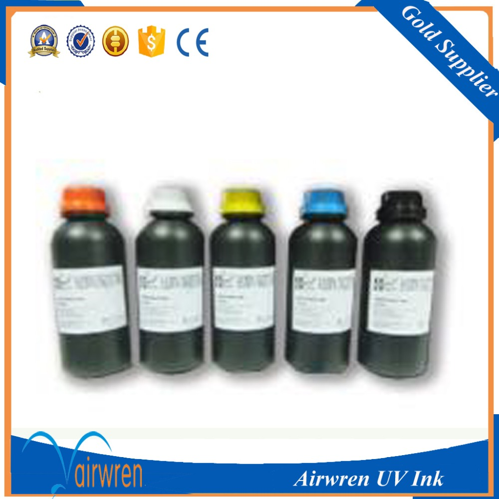 High Quality UV ink for uv inkjet printer to print metal,glass,,etc. 6 colors high quality 789 1000ml latex ink for hp l25500 printer inkjet made in china market