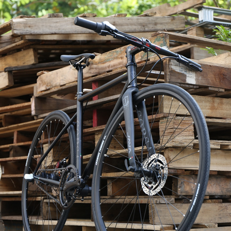 Ява Корса СГ-Mo Велокросс Дорожный велосипед 700c гоночный велосипед с 3 скорости концентратор для Центр замок дисковый тормоз