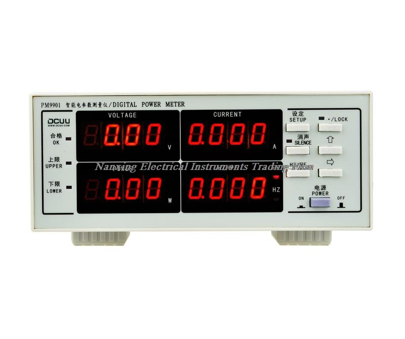 Fast arrival PM9901 ACVoltage Current Power Factor & Power Meter 600V,20A/40A Tester Perfect replacement PF99001 (Alarm) fast arrival pm9800 new brand acvoltage current power factor